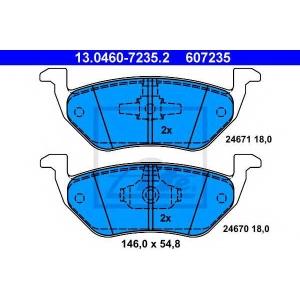 ATE 13.0460-7235.2 Комплект тормозных колодок, дисковый тормоз Мазда Трибут