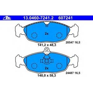 ATE 13.0460-7241.2 Комплект тормозных колодок, дисковый тормоз Ягуар