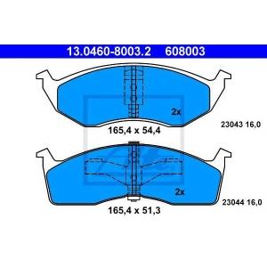 ATE 13.0460-8003.2 Комплект тормозных колодок, дисковый тормоз Крайслер Конкорд