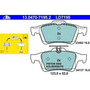 ATE 13.0470-7195.2 Комплект тормозных колодок, дисковый тормоз Форд Фокус Турниер