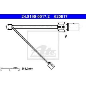 ATE 24.8190-0017.2 Сигнализатор, износ тормозных колодок Ауди Р8 Спайдер