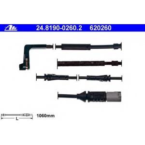 ATE 24.8190-0260.2 Сигнализатор, износ тормозных колодок Бмв 5