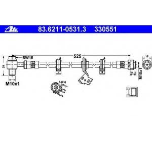 ATE 83.6211-0531.3 flexible coupling Mercedes M-Class (W163) 1998 -