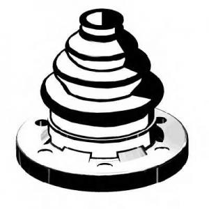 AUTOFREN D8332 Пыльник наружного ШРУСа