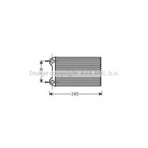 AVA COOLING AIA6223 Радиатор отопителя HEAT AUDI A4 ALL 00- LHD (Ava)