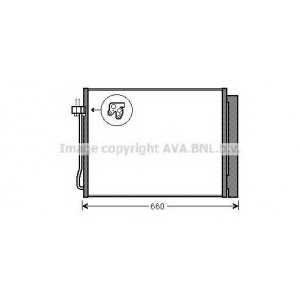 AVA BW 5377 Cond. X5 3.0 i * 11 Радиатор кондиционера