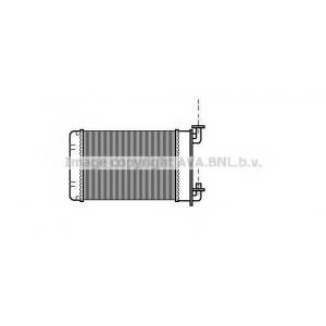 AVA COOLING BW6022 Радиатор отопителя BMW E30/Z1 88- 316->325 (Ava)