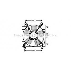 AVA dw7509 Вентилятор радиатора