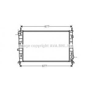 AVA fda2165 Радиатор