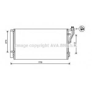 AVA HY5246 Радиатор кондиционера