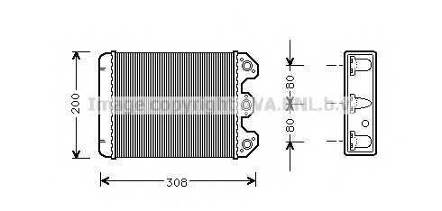 Теплообменник габариты отопление сколько стоит теплообменник на двигатель ямз-236бе