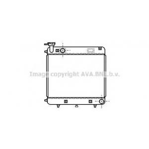 AVA COOLING MSA2085 Радиатор MB W601 SPRINTER 1 76-95 (Ava)