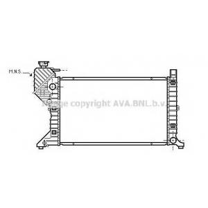 AVA msa2300 Радиатор охлаждения двигателя