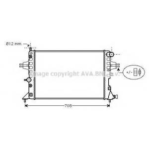 AVA COOLING OLA2254 Радиатор ASTRA G/ZAFIRA AT +AC (Ava)
