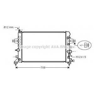 AVA COOLING OLA2363 Радиатор ASTRA H 16i-16V MT/AT 04- (Ava)