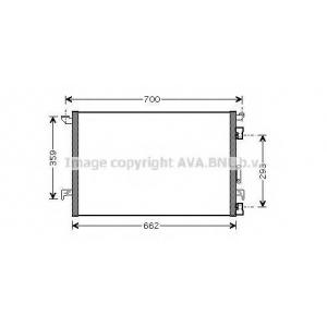 AVA OLA 5333 Радиатор кондиционера