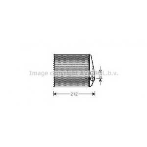 AVA COOLING OLA6354 Радиатор отопителя OPEL (пр-во AVA)