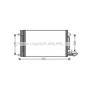 AVA ST 5038 Радiатор кондицiонера