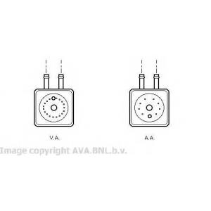 AVA VW 3148 Масляный радиатор 1.9TDi [OE. 028.117.021]