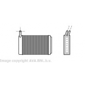 AVA VW 6061 Радиатор печки [OE. 171.819.121]