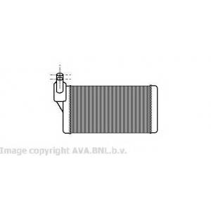 AVA COOLING VW6097 Радиатор отопителя VW TRANSPORTER ALL 90-00 (Ava)