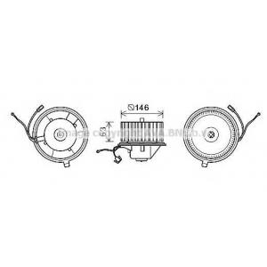 AVA VW8349 Вентилятор обігрівача