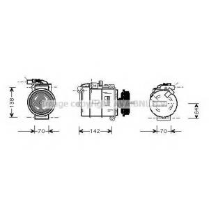 AVA VWAK087 VW-TRAN T5 03-/Компрессор