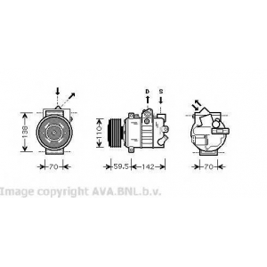 AVA VW K220 SA OCT 04-/Компрессор