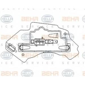 BEHR-HELLA SERVICE 5HL 351 321-131