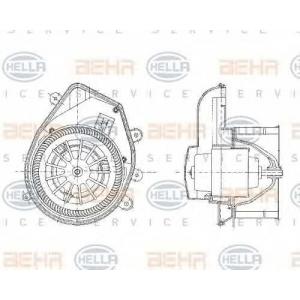 BEHR-HELLA SERVICE 8EW 009 159-131 Вентилятор печки