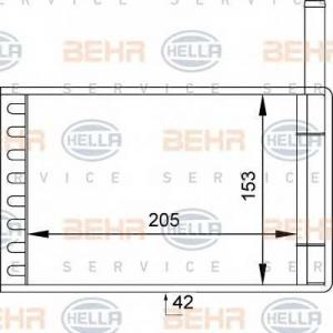BEHR-HELLA 8FH351313-111