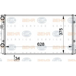 BEHR-HELLA SERVICE 8MK 376 714-541 Радиатор