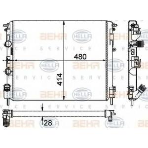 BEHR-HELLA SERVICE 8MK 376 719-671 Радиатор
