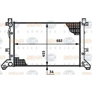 BEHR-HELLA 8MK376719-704