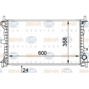 BEHR-HELLA SERVICE 8MK 376 720-301 Радиатор