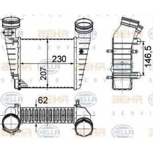 BEHR-HELLA SERVICE 8ML 376 776-611 Интеркуллер