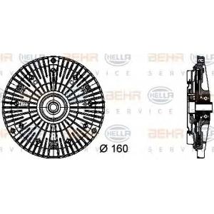 BEHR 8MV376732-061 Гідромуфта Spr 2,9 TDI /Behr