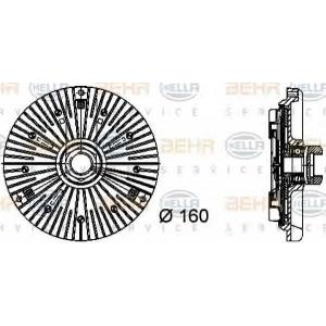 BEHR-HELLA SERVICE 8MV 376 733-031 Вискомуфта