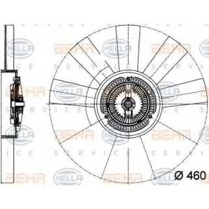 BEHR-HELLA SERVICE 8MV 376 733-311