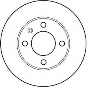BENDIX 562171B Тормозной диск