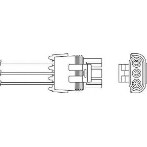 BERU OZH033 Lambda sonde