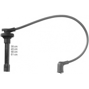 BERU ZEF1005 Ignition cable set