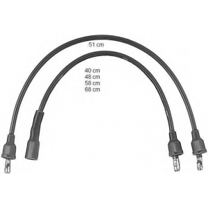 BERU ZEF571 Ignition cable set