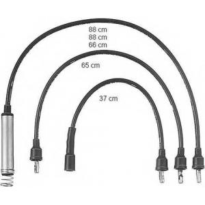 BERU ZEF576 Високовольтні кабелі