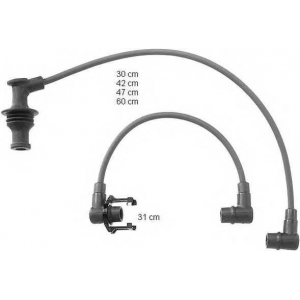 BERU ZEF729 Ignition cable set