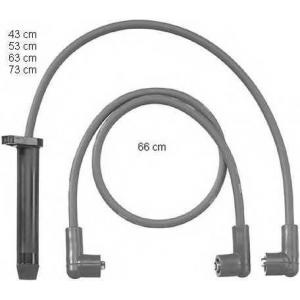 BERU ZEF809 Ignition cable set