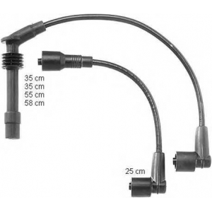 BERU ZEF997 Ignition cable set