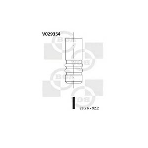 BGA V029354 Клапан двигуна