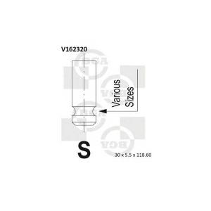 BGA V162320 Valve
