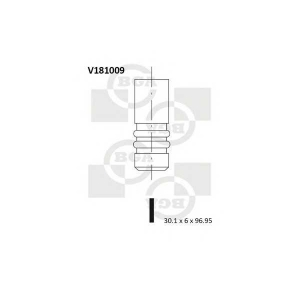 BGA V181009 Клапан